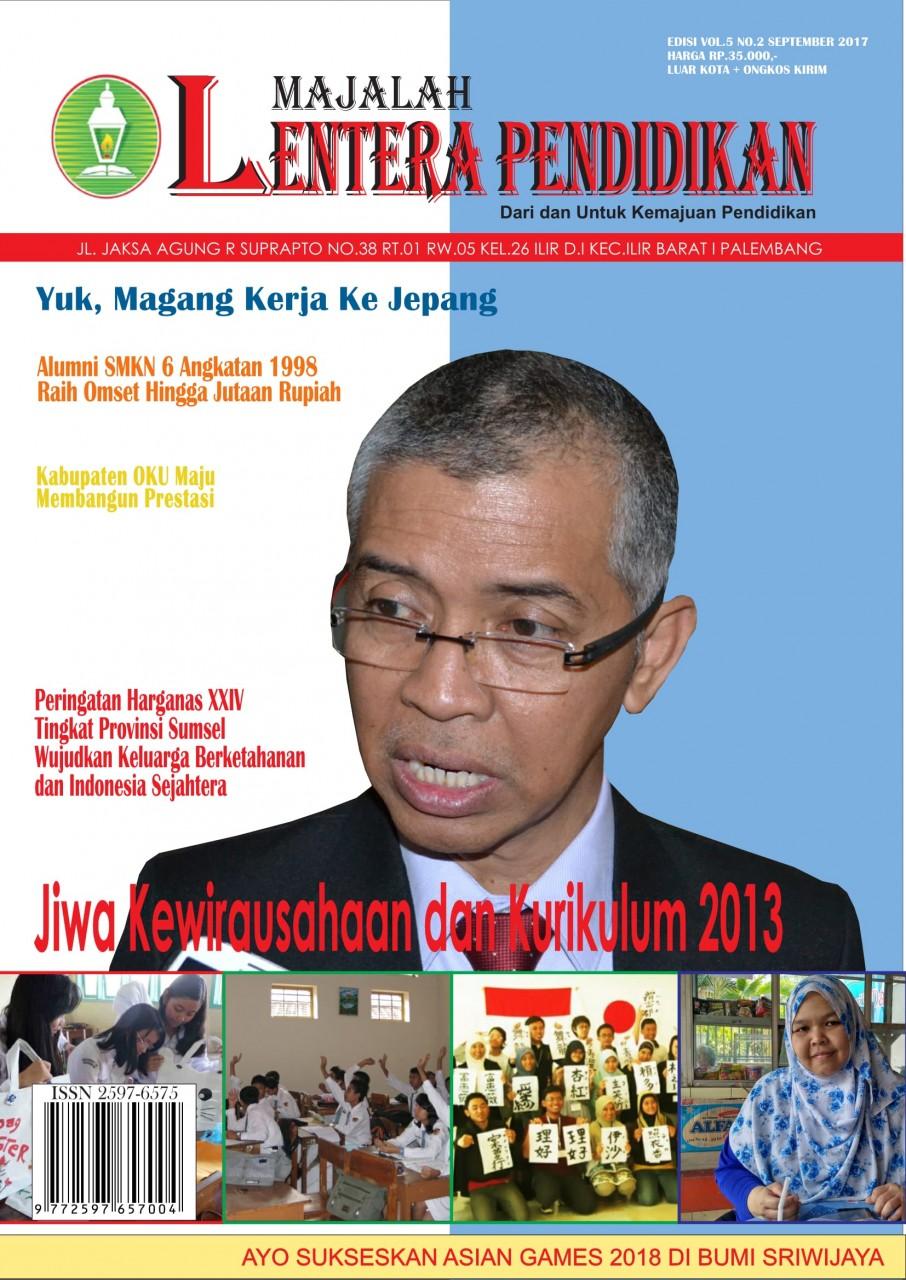 Jiwa Kewirausahaan dan Kurikulum 2013